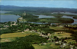 Aerial view of Princeton, Maine