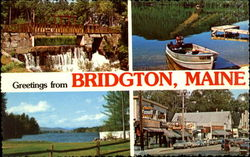 Greetings from Bridgton, Maine