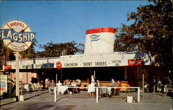 Flagship Motel & Restaurant Postcard
