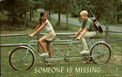 Tandem Bike Someone is missing.....!