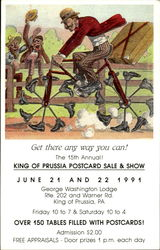 King of Prussia Postcard Sale & Show