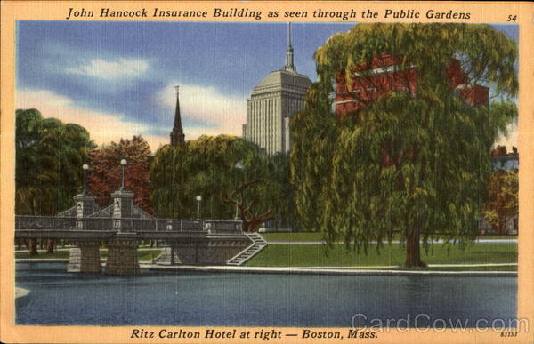 John Hancock Insurance Building Boston Massachusetts