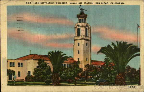 Administration Building, Naval Air Station San Diego California