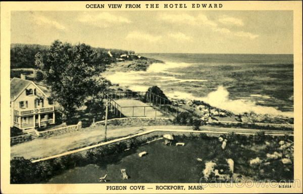 Ocean View From The Hotel Edward Rockport Machusetts