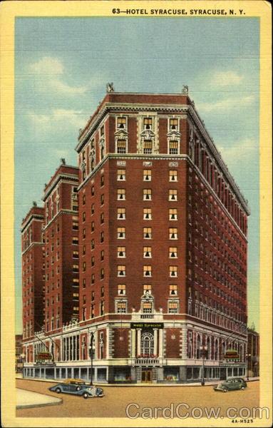 63 - Hotel Syracuse, Syracuse, N.Y New York