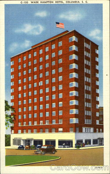 Wade Hampton Hotel Columbia South Carolina