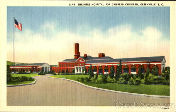 Shriners Hospital for Crippled Children Greenville, SC