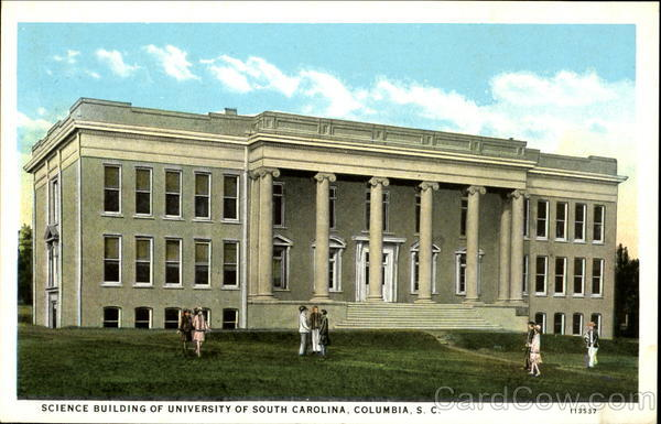 Science Building of University of South Carolina Columbia