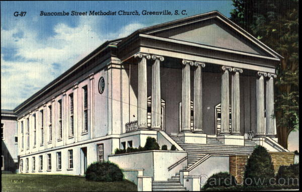 Buncombe Street Methodist Church Greenville South Carolina