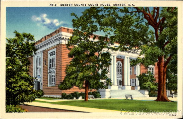Sumter County Court House South Carolina