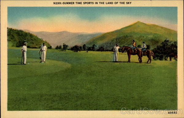 N299:-Summer Time Sports in the Land of the Sky Asheville North Carolina