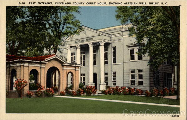 Cleveland Couty Court House Shelby North Carolina