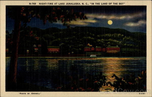Night time at lake junaluska for Lake junaluska fishing