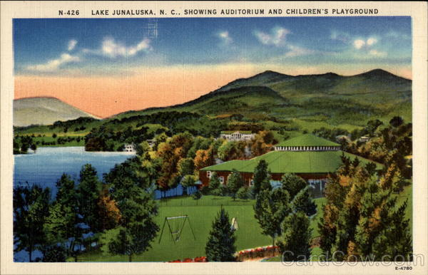 Lake junaluska n c showing auditorium and children 39 s for Lake junaluska fishing