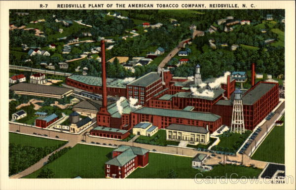 Reidsville Plant of the American Tobacco Company North Carolina