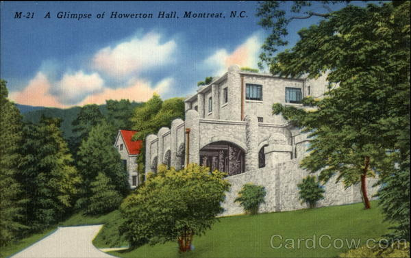 A Glimpse of Howerton Hall Montreat North Carolina