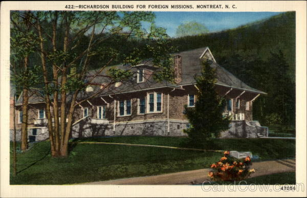 Richardson Building for Foreign Missions, Montreat, N.C North Carolina