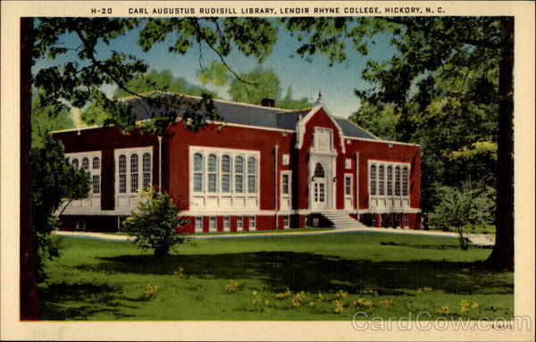 Carl Augustus Rudisill Library, Lenoir Rhyne College Hickory North Carolina