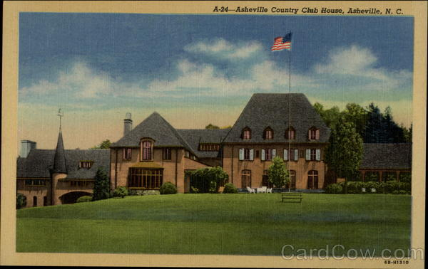 Asheville Country Club House, Asheville, N. C North Carolina