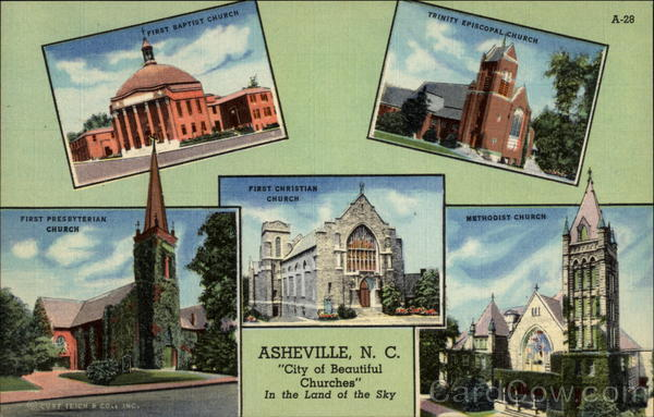 City of Beautiful Churches Asheville North Carolina