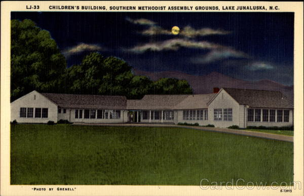 Children 39 s building southern methodist assembly grounds for Lake junaluska fishing