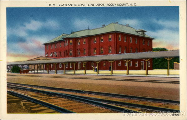 Atlantic Coast Line Depot Rocky Mount North Carolina