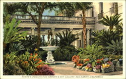 Henry E. Huntington Library & Art Gallery Postcard