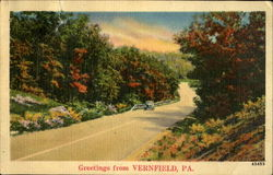 Greetings from Vernfield, PA