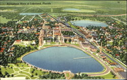 Aeroplane View of Lakeland, Florida