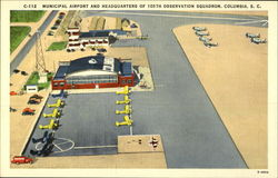 Municipal Airport and Headquarters of 105th Observation Squadron