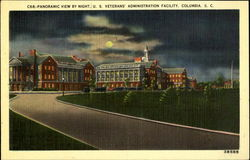 Panoramic View by Night, U. S. Veterans' Administration Facility