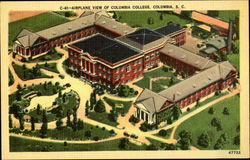 Airplane View of Colubia College