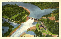 Buzzard Roost's power plant and dam
