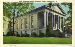 Buncombe Street Methodist Church Postcard