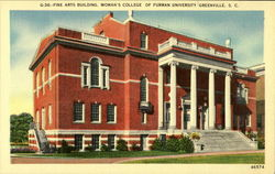 Fine Arts Building, Woman's College of Furman University