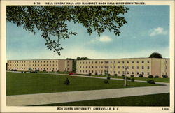 Nell Sunday Hall and Margaret Mack Hall Girls Dormitories