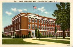 Junior HIgh School, West Calhoun Street