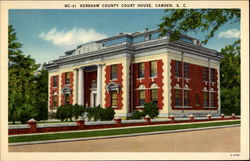 Kershaw County Court House, Camden, S. C
