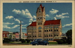 Anderson County Court House, Anderson, S. C