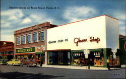 Modern Stores on Main Street, Union, S.C