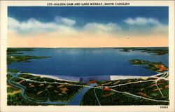 C57-Saluda Dam and Lake Murray, South Carolina 34824