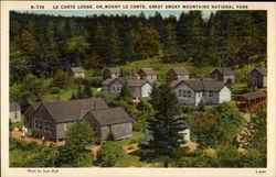 Le Conte Lodge, on Mount Le Conte, Great Smoky Mountains Naitonal Park