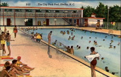 S-21 The City Park Pool, Shelby, N.C