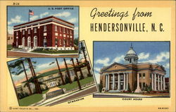 Greetings from Hendersonville, N.C