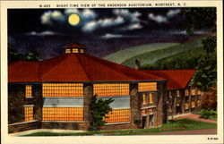 Night-time View of the Anderson Auditorium