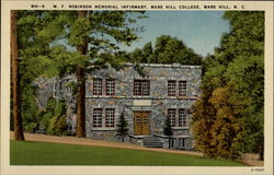 W.f. Robinson Memorial Infirmary, Mars Hill College