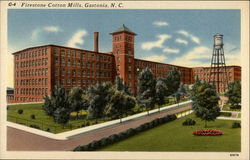 Firestone Cotton Mills Postcard