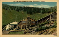 Camp Alice, on Mount Mitchell, Western North Carolina