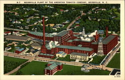 Reidsville Plant of the American Tobacco Company