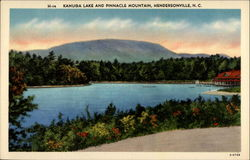 Kanuga Lake and Pinnacle Mountain